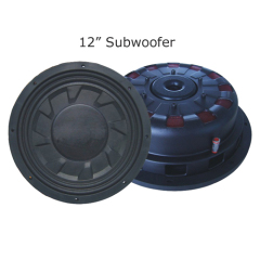 "12"" Silm Paper Cone Subwoofer"