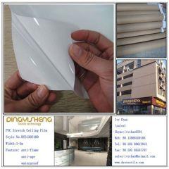PVC Descor Stretch Ceiling Film for Interior Decoration