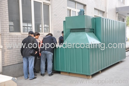 fire extinguisher powder coating oven