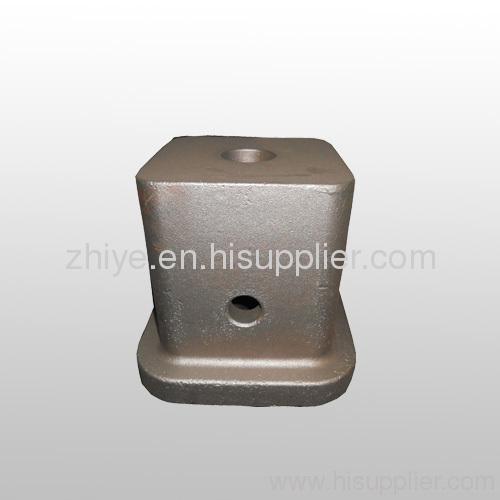 large carbon steel square box