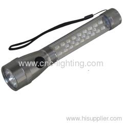 7+18+ 6 led flashlight
