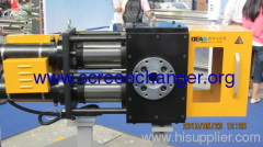 continuous double pillar hydraulic screen changer