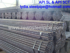 SMALL DIA SEAMLESS STEEL PIPE DN40*SCH40*5.8M