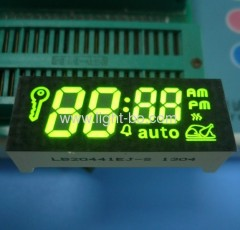 Custom green oven display; green oven timer led display;