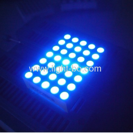 1.263mm x 5 7 weiß Dot-Matrix-LED-Display
