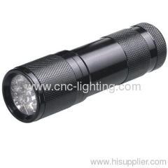 Aluminium shockproof LED flashlight