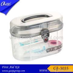 PVC small size popular home /pet /office First aid box