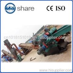 sawdust wood straw chipping machine