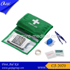 Green first aid kit 3 in 1