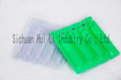 PVC/PE film for medicinal packaging