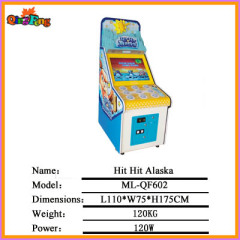coin operated game machine