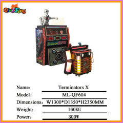 coin operated lottery game-machine