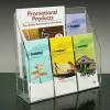 Popular leaflet holder/Lucite literature Holder/Acrylic Brochure Display