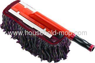 Extendible microfiber snow brush