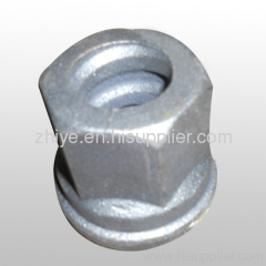 small ductile iron nut(screw cap) casting