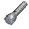 Aluminium LED flashlight with 28 leds