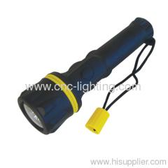 shockproof handheld LED flashlight