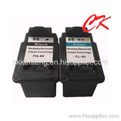PG88 CL98 ink cartridge compatible for CANON PIXMA E500