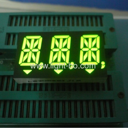Ultra bright red common anode 14-segment Dual-digit LED Alphanumeric Display