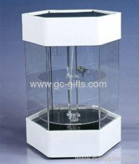 Lockable & Rotating display case