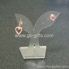Princess diamond earring tree shaped display stand holder