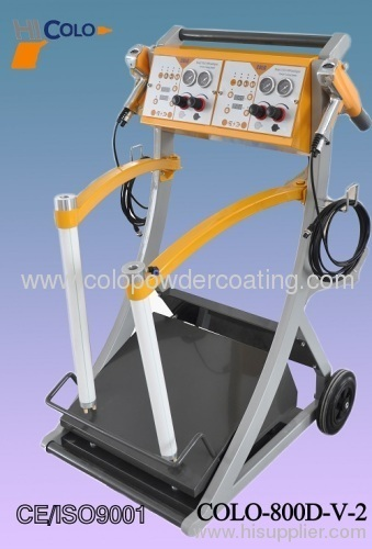 car electrostatic painting machine
