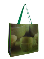Colorful eco-friendly pp laminated non woven bag