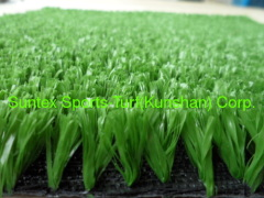 Professional tennis artifical turf grass
