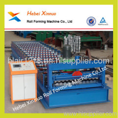 c21 corrugated steel panel roll forming machine hebei