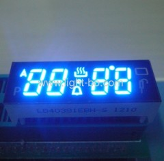 blue oven timer display; blue led display for oven control