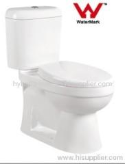 Watermark WELS Australian Standard Toilet Bathroom Washdown Two-pieces Toilet