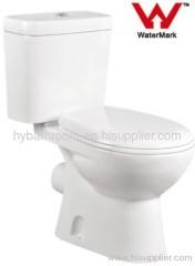 Watermark WELS Australian Standard Bathroom Toilet Two-pieces Washdown Australian Approval Bathroom Toilet