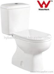Watermark WELS Australian Standard Bathroom Toilet Two-pieces Washdown Australian Approval Toilet Ceramic