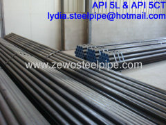 BLACK AND ROUND STEEL TUBE DN125
