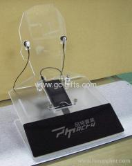 The best elegant clear plexiglass mobile phone holder