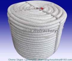 high temperature seals or gaskets round ceramic fiber rope