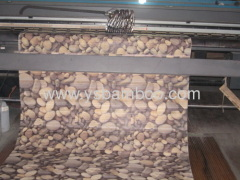 Attractive Printing Design Bamboo Carpet
