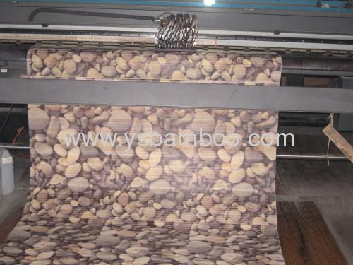 Attractive Printing Design Bamboo Carpet