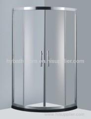 Round Watermark Shower Screen