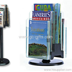 Popular multifunctional countertop magazine rack