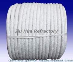high temperature seal round ceramic fiber rope