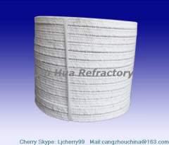 oven/ furnace and boiler seal of square ceramic fiber rope