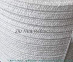 high temperature cable or pipe wrapping by ceramic fiber braided rope