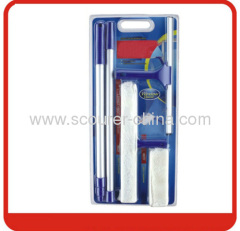 Mutifunctional Window cleaner set with color card