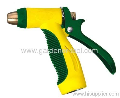 metal 2-pattern garden hose spray gun