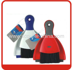 Mini dustpan&brush with TPR Squeegee Material