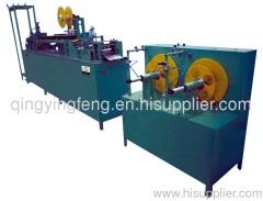 Velcro tape coating machine