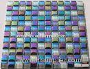 iridescent glass mosaic tile rainbow mosaic tiles