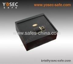 Biometric drawer safe/ top access opening drawer