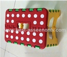 At home plastic folding child stool